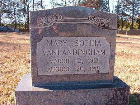 VANLANDINGHAM, MARY SOPHIA - Dallas County, Arkansas | MARY SOPHIA VANLANDINGHAM - Arkansas Gravestone Photos