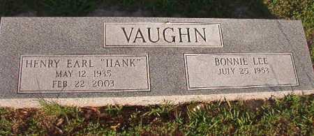 "VAUGHN, HENRY EARL ""HANK"" - Dallas County, Arkansas | HENRY EARL ""HANK"" VAUGHN - Arkansas Gravestone Photos"