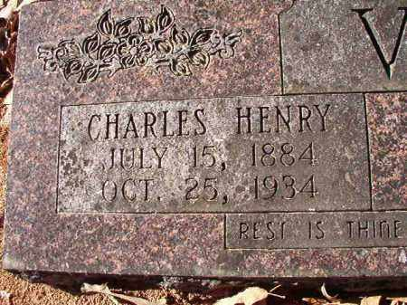 VOSS, CHARLES HENRY - Dallas County, Arkansas | CHARLES HENRY VOSS - Arkansas Gravestone Photos