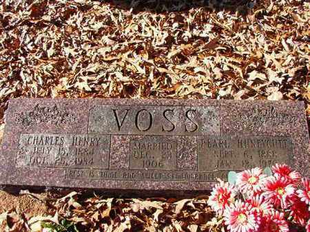 HUNEYCUTT VOSS, PEARL - Dallas County, Arkansas | PEARL HUNEYCUTT VOSS - Arkansas Gravestone Photos