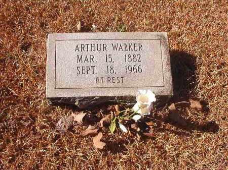 WALKER, ARTHUR - Dallas County, Arkansas | ARTHUR WALKER - Arkansas Gravestone Photos