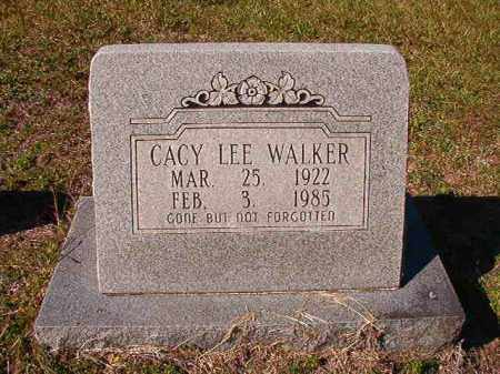 WALKER, CACY LEE - Dallas County, Arkansas | CACY LEE WALKER - Arkansas Gravestone Photos