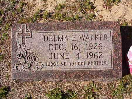 WALKER, DELMA E - Dallas County, Arkansas   DELMA E WALKER - Arkansas Gravestone Photos