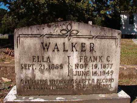 WALKER, ELLA - Dallas County, Arkansas | ELLA WALKER - Arkansas Gravestone Photos