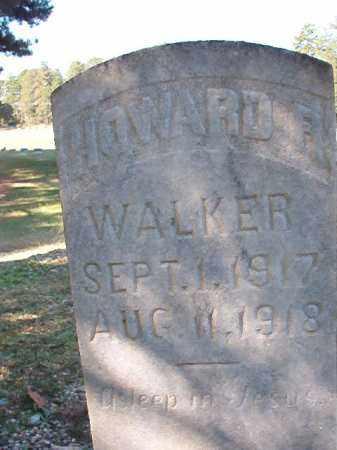 WALKER, HOWARD R - Dallas County, Arkansas | HOWARD R WALKER - Arkansas Gravestone Photos