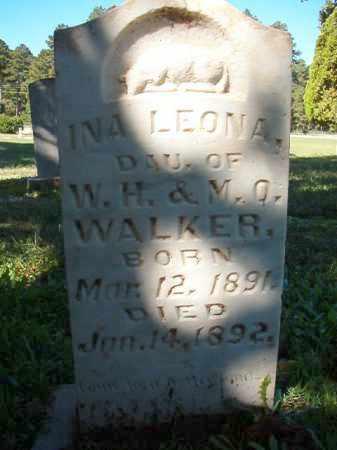 WALKER, INA LEONA - Dallas County, Arkansas | INA LEONA WALKER - Arkansas Gravestone Photos