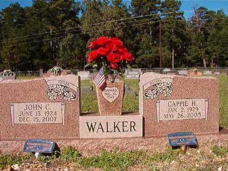 WALKER, CAPPIE H - Dallas County, Arkansas   CAPPIE H WALKER - Arkansas Gravestone Photos