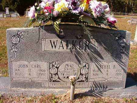 WALKER, ETHEL B - Dallas County, Arkansas | ETHEL B WALKER - Arkansas Gravestone Photos