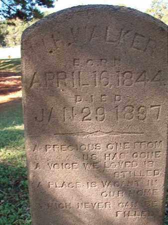 WALKER, W H - Dallas County, Arkansas   W H WALKER - Arkansas Gravestone Photos