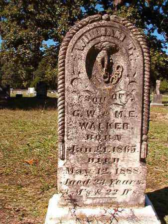 WALKER, WILLIAM T - Dallas County, Arkansas | WILLIAM T WALKER - Arkansas Gravestone Photos