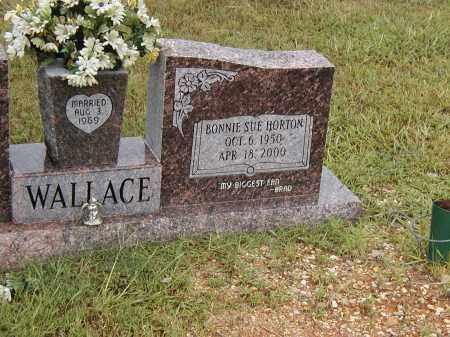 HORTON WALLACE, BONNIE SUE - Dallas County, Arkansas | BONNIE SUE HORTON WALLACE - Arkansas Gravestone Photos