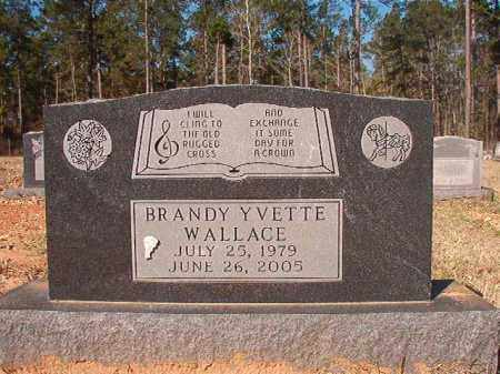 WALLACE, BRANDY YVETTE - Dallas County, Arkansas | BRANDY YVETTE WALLACE - Arkansas Gravestone Photos