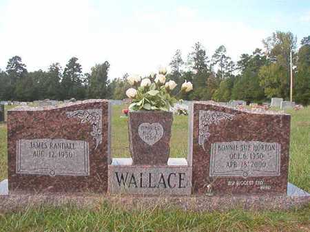 HORTON WALLACE, BONNIE SUE - Dallas County, Arkansas | BONNIE SUE HORTON WALLACE - Arkansas Gravestone Photos