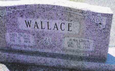 WALLACE, JAMES THOMAS - Dallas County, Arkansas | JAMES THOMAS WALLACE - Arkansas Gravestone Photos