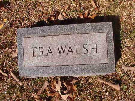 WALSH, ERA - Dallas County, Arkansas   ERA WALSH - Arkansas Gravestone Photos