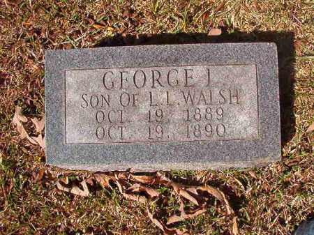 WALSH, GEORGE L - Dallas County, Arkansas | GEORGE L WALSH - Arkansas Gravestone Photos