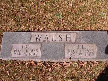 WALSH, J L - Dallas County, Arkansas | J L WALSH - Arkansas Gravestone Photos