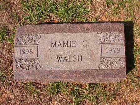 WALSH, MAMIE C - Dallas County, Arkansas   MAMIE C WALSH - Arkansas Gravestone Photos