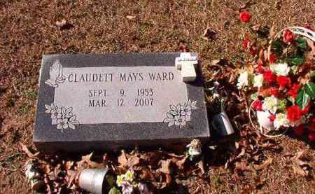 MAYS WARD, CLAUDETT - Dallas County, Arkansas | CLAUDETT MAYS WARD - Arkansas Gravestone Photos