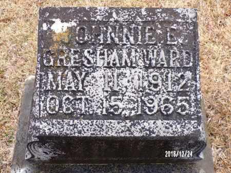 GRESHAM WARD, JOHNNIE E - Dallas County, Arkansas | JOHNNIE E GRESHAM WARD - Arkansas Gravestone Photos