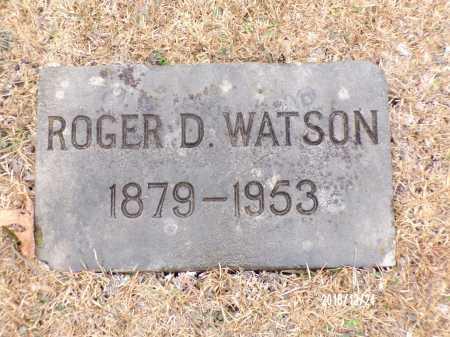 WATSON, ROGER D - Dallas County, Arkansas | ROGER D WATSON - Arkansas Gravestone Photos