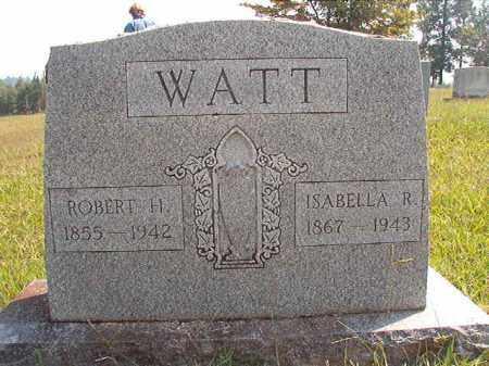 WATT, ROBERT H - Dallas County, Arkansas   ROBERT H WATT - Arkansas Gravestone Photos