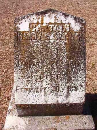 WATTS, CAPTAIN, HARRY L - Dallas County, Arkansas | HARRY L WATTS, CAPTAIN - Arkansas Gravestone Photos