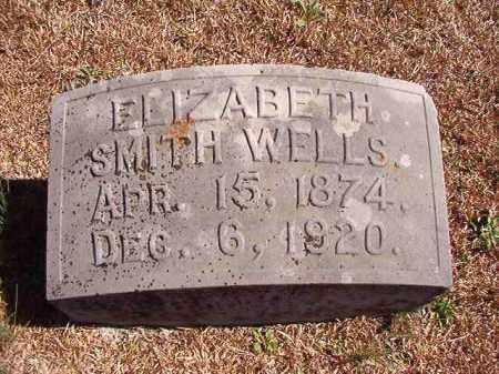 WELLS, ELIZABETH - Dallas County, Arkansas   ELIZABETH WELLS - Arkansas Gravestone Photos