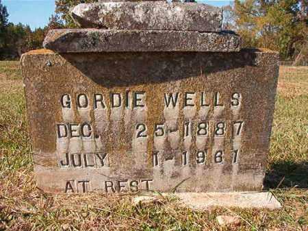 WELLS, GORDIE - Dallas County, Arkansas   GORDIE WELLS - Arkansas Gravestone Photos