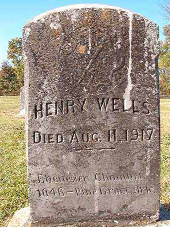 WELLS, HENRY - Dallas County, Arkansas   HENRY WELLS - Arkansas Gravestone Photos
