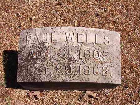 WELLS, PAUL - Dallas County, Arkansas | PAUL WELLS - Arkansas Gravestone Photos
