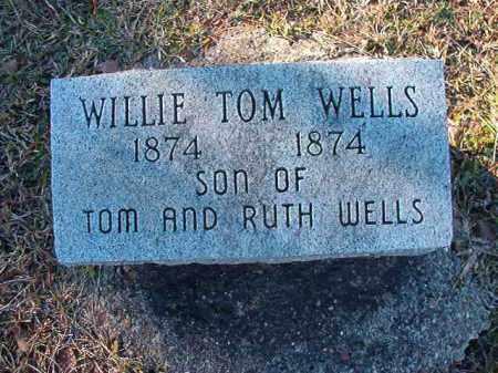 WELLS, WILLIE TOM - Dallas County, Arkansas   WILLIE TOM WELLS - Arkansas Gravestone Photos