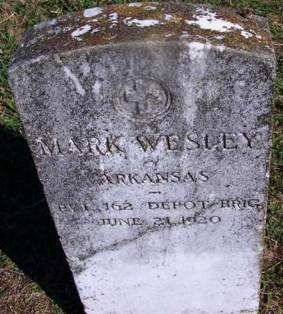 WESLEY (VETERAN), MARK - Dallas County, Arkansas | MARK WESLEY (VETERAN) - Arkansas Gravestone Photos