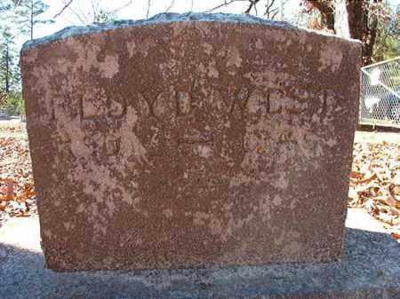 WEST, FLOYD - Dallas County, Arkansas | FLOYD WEST - Arkansas Gravestone Photos
