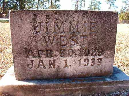 WEST, JIMMIE - Dallas County, Arkansas | JIMMIE WEST - Arkansas Gravestone Photos