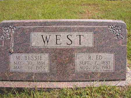 WEST, R ED - Dallas County, Arkansas | R ED WEST - Arkansas Gravestone Photos