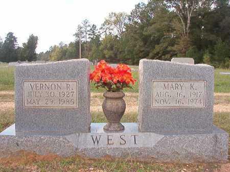 WEST, MARY K - Dallas County, Arkansas | MARY K WEST - Arkansas Gravestone Photos
