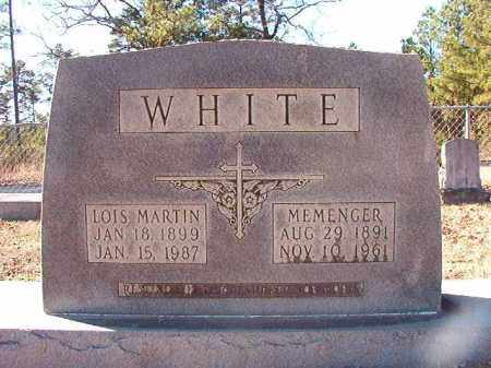 WHITE, MEMENGER - Dallas County, Arkansas | MEMENGER WHITE - Arkansas Gravestone Photos