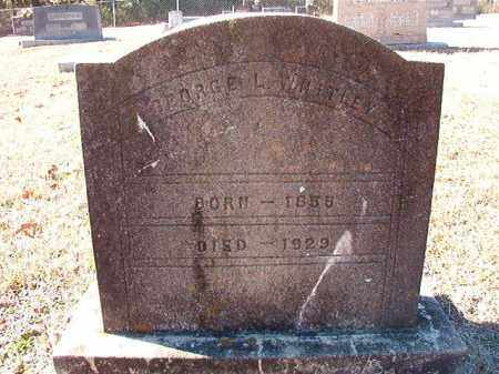 WHITLEY, GEORGE L - Dallas County, Arkansas   GEORGE L WHITLEY - Arkansas Gravestone Photos