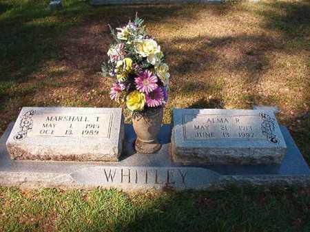 WHITLEY, ALMA R - Dallas County, Arkansas | ALMA R WHITLEY - Arkansas Gravestone Photos