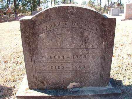 WHITLEY, SARAH E - Dallas County, Arkansas | SARAH E WHITLEY - Arkansas Gravestone Photos