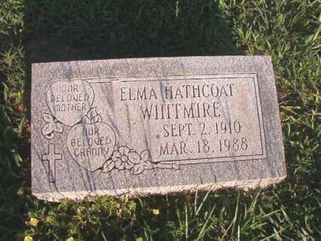 WHITMIRE, ELMA - Dallas County, Arkansas | ELMA WHITMIRE - Arkansas Gravestone Photos