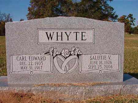 WHYTE, CARL EDWARD - Dallas County, Arkansas | CARL EDWARD WHYTE - Arkansas Gravestone Photos