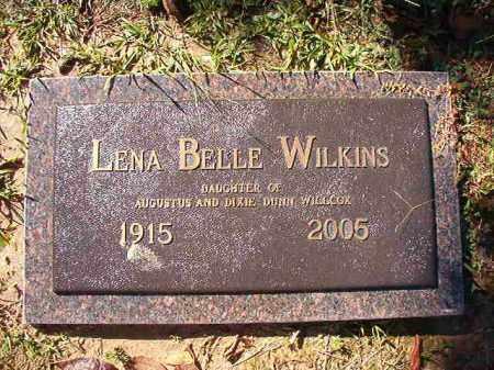 WILKINS, LENA BELLE - Dallas County, Arkansas | LENA BELLE WILKINS - Arkansas Gravestone Photos