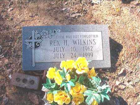 WILKINS, REX H - Dallas County, Arkansas | REX H WILKINS - Arkansas Gravestone Photos