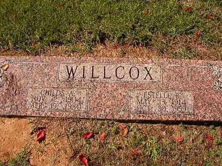 WILLCOX, ESTELLE R - Dallas County, Arkansas | ESTELLE R WILLCOX - Arkansas Gravestone Photos