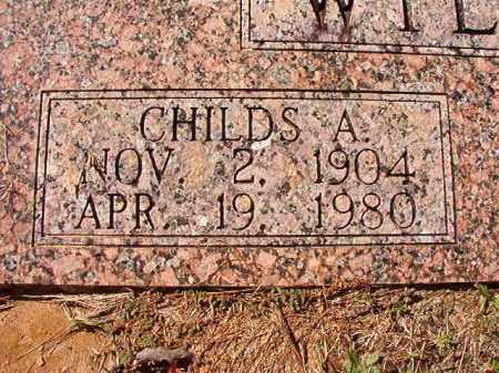 WILLCOX, CHILDS A - Dallas County, Arkansas | CHILDS A WILLCOX - Arkansas Gravestone Photos