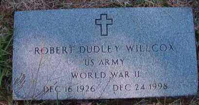 WILLCOX (VETERAN WWII), ROBERT DUDLEY - Dallas County, Arkansas   ROBERT DUDLEY WILLCOX (VETERAN WWII) - Arkansas Gravestone Photos