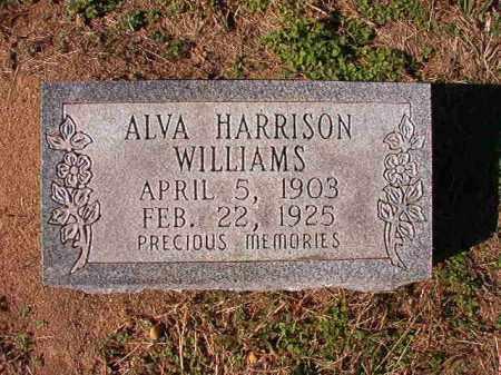 WILLIAMS, ALVA - Dallas County, Arkansas | ALVA WILLIAMS - Arkansas Gravestone Photos