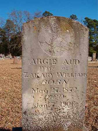 WILLIAMS, ARGIE - Dallas County, Arkansas | ARGIE WILLIAMS - Arkansas Gravestone Photos